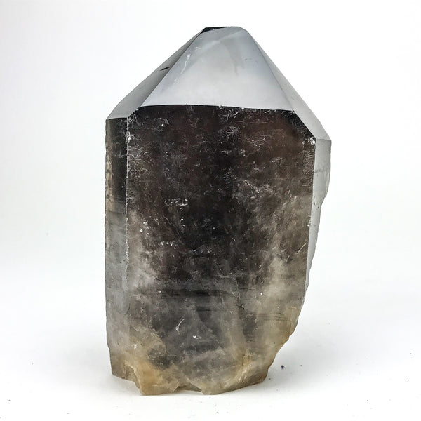 Polished Smoky Quartz Crystal Point From Brazil - Astro Gallery