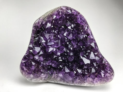 Amethyst Crystal Cluster from Brazil (22.9 lbs) - Astro Gallery