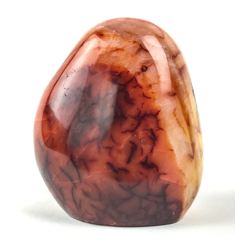 Polished Carnelian Agate from Madagascar (1.5 pounds) - Astro Gallery