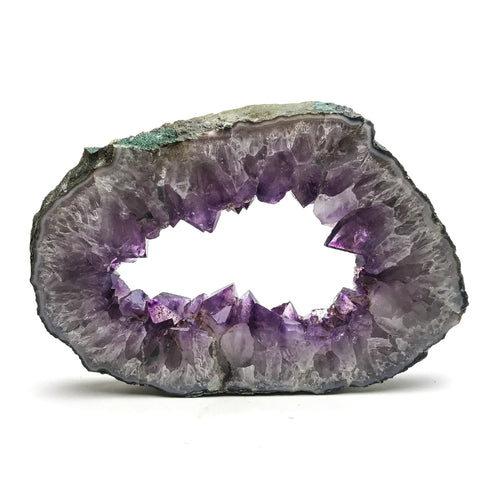 Amethyst Geode Slice From Brazil (7.5 pounds)