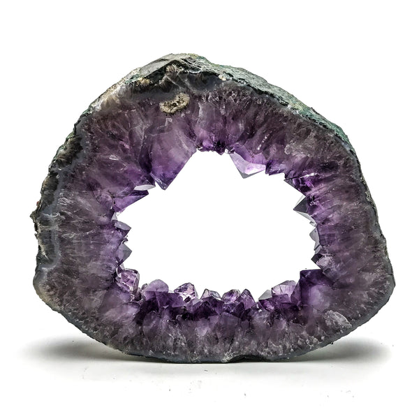 Amethyst Geode Slice From Brazil (6 pounds)