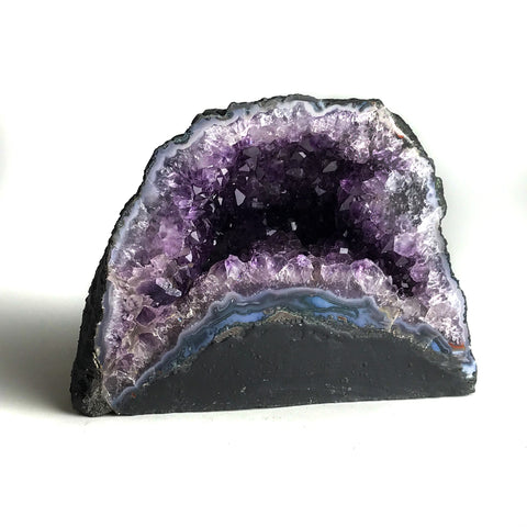 Amethyst Cluster Geode From Brazil (10.14 lbs) - Astro Gallery