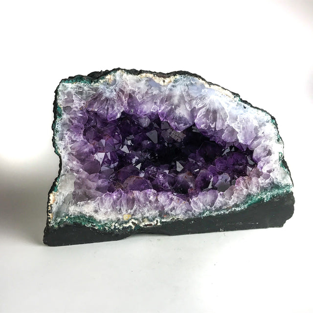 Amethyst Cluster Geode From Brazil (26.45 lbs) - Astro Gallery