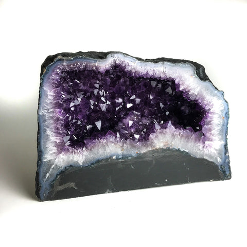 Amethyst Cluster Geode From Brazil (40.78 lbs)