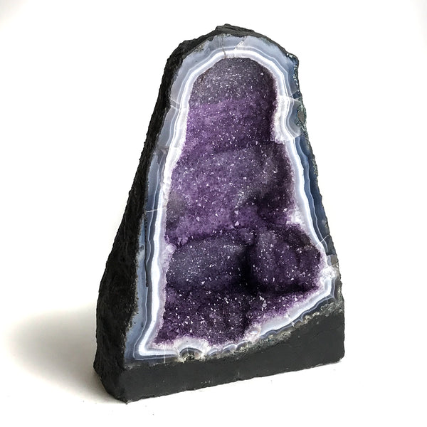 Amethyst Cluster Geode From Brazil (39 lbs) - Astro Gallery