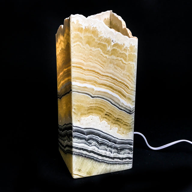 "Onyx Lamp from Mexico (14.5"", 10.5 lbs) - Astro Gallery"