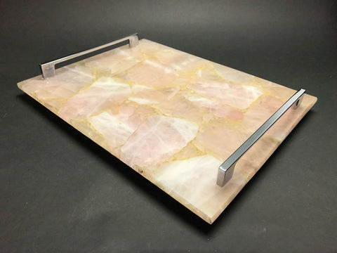 Rose Quartz Serving Tray - Astro Gallery