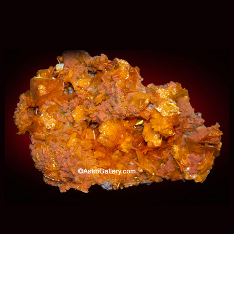 Wulfenite - Astro Gallery