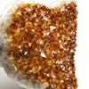 Citrine Cluster Heart (Large) from Uruguay - Astro Gallery