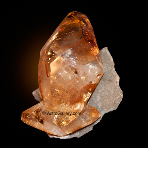 GOLDEN CALCITE - Astro Gallery