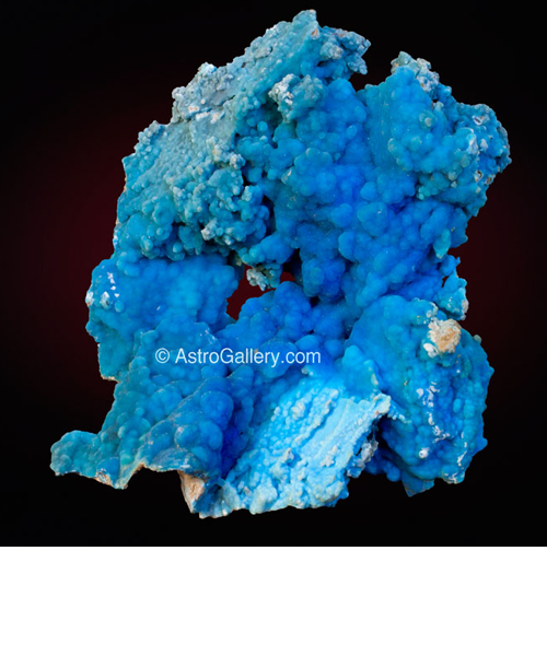 Botryoidal Hemimorphite from Malipo Mine, Malipo Co., Yunnan Province, China