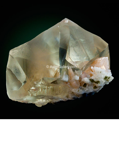 Golden Twin Calcite - Astro Gallery