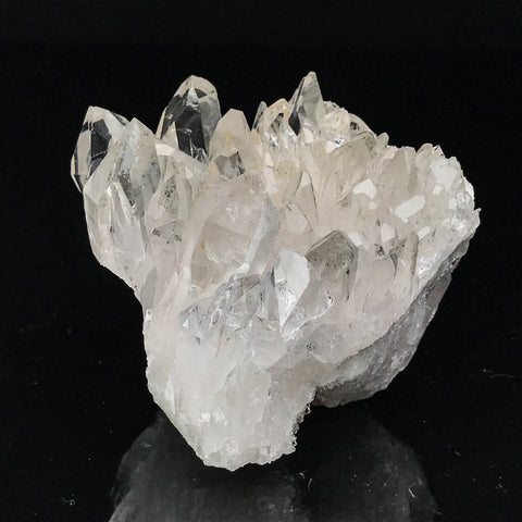 Gem Quartz Crystal Cluster from Brazil