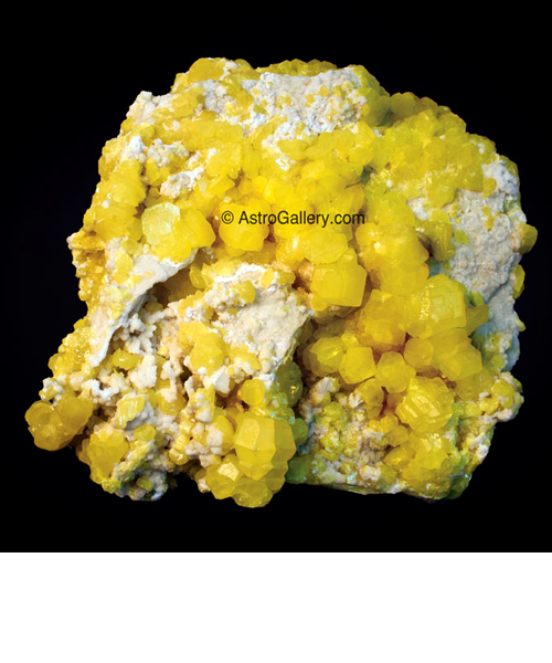 Sulfur from Agrigento - Astro Gallery