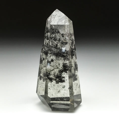 Gem Garden Quartz Polished Point From Brazil - Astro Gallery