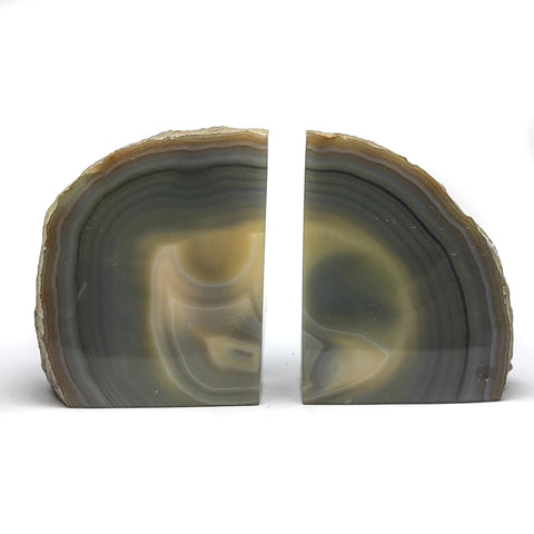 Agate Bookends (5.5 lbs) - Astro Gallery