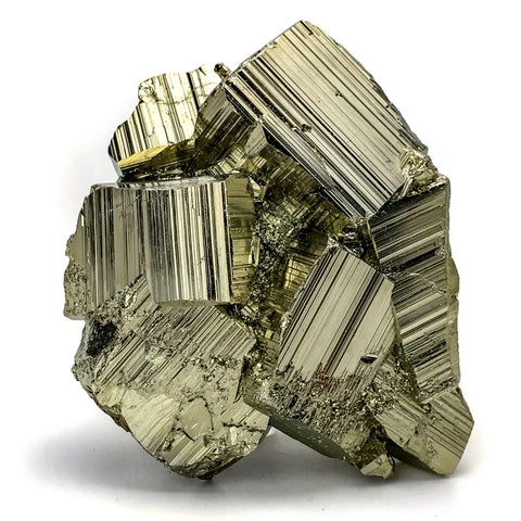Pyrite from Huanzala Mine, Huanuco Province, Peru (1.62 lbs) - Astro Gallery