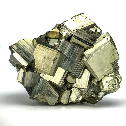 Pyrite from Huanzala Mine, Huanuco Province, Peru (2.5 lbs) - Astro Gallery