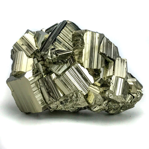 Pyrite from Huanzala Mine, Huanuco Province, Peru (3 lbs) - Astro Gallery
