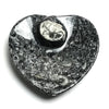 Goniatite Fossil Dish - Small Heart - Astro Gallery