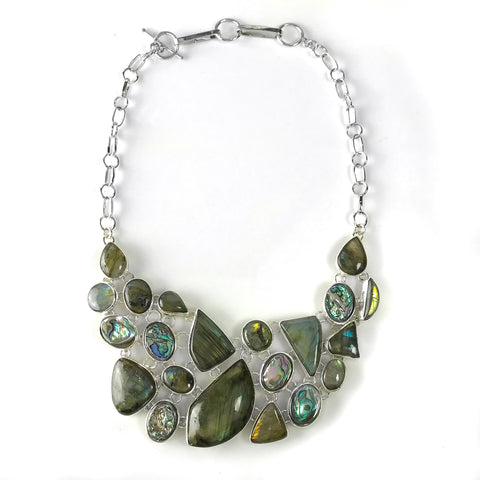 Labradorite Necklace - Astro Gallery