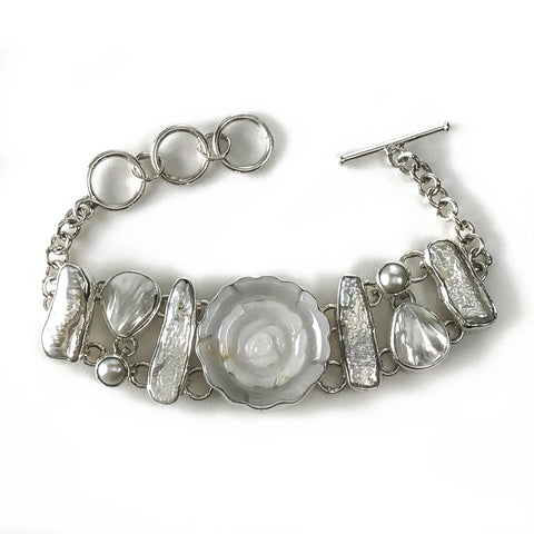 Mother of Pearl Bracelace - Astro Gallery