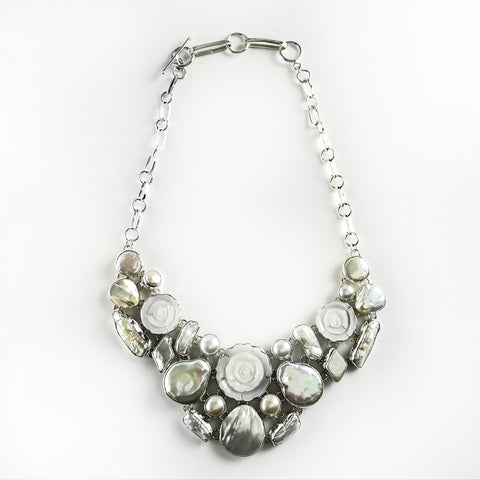 Mother of Pearl Necklace - Astro Gallery
