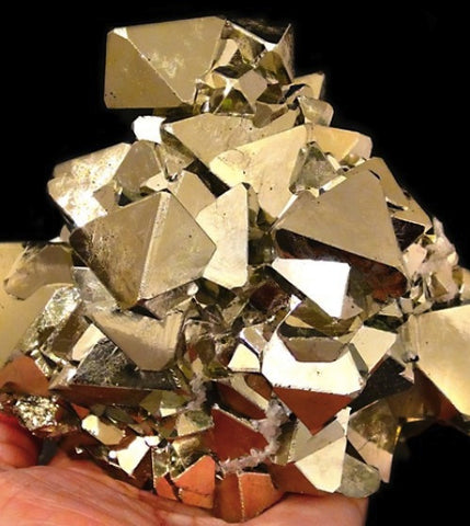 Octahedral Pyrite