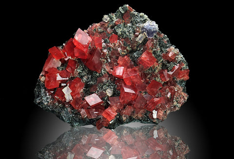 Rhodochrosite from Sweet Home Mine, Buckskin Gulch, Alma District, Park County, Colorado - Astro Gallery
