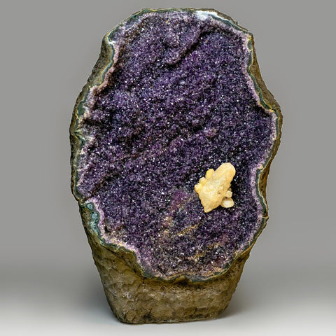 Large Amethyst Cluster Geode From Brazil (31 Inches)