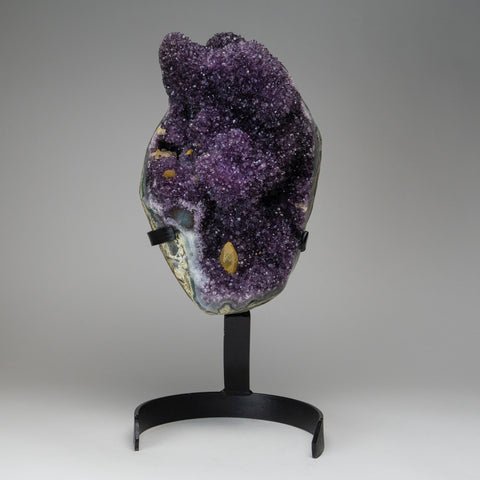 Amethyst Cluster on Stand from Uruguay (26 lbs)
