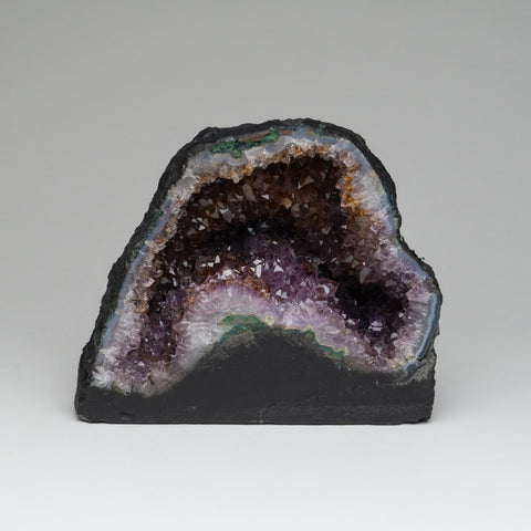 Amethyst Cluster Geode From Brazil (6.5'' 6 lbs)