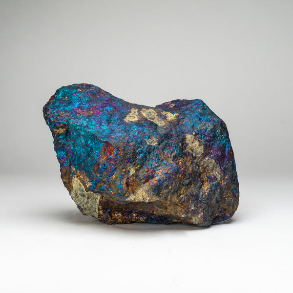 Natural Chalcopyrite Gemstone Peacock Ore (30 lbs)