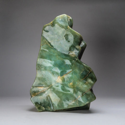 Polished Green Jade Freeform from Pakistan (41 lbs)