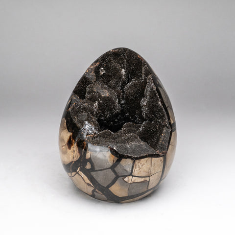 Septarian Druzy Geode Egg from Madagascar (8 lbs)