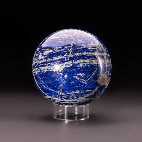 "Polished Lapis Lazuli Sphere from Afghanistan (5.5"", 9.5 lbs)"