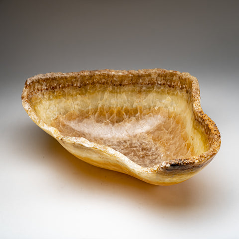 Natural Onyx Bowl From Mexico (18.8 lbs)