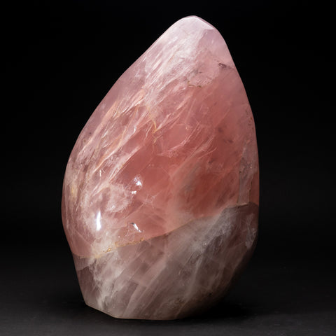 Large Genuine Polished Rose Quartz Freeform From Brazil (63 lbs)