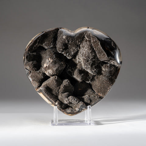 Septarian Druzy Heart from Madagascar (9 lbs)