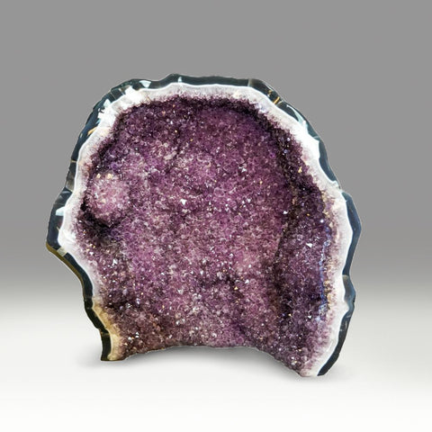 Large Amethyst Cluster Geode From Brazil (23 Inches)
