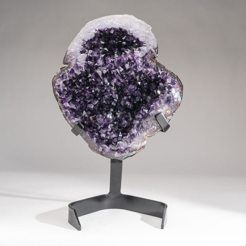 Amethyst Crystal Cluster on Stand from Brazil (40 lbs)