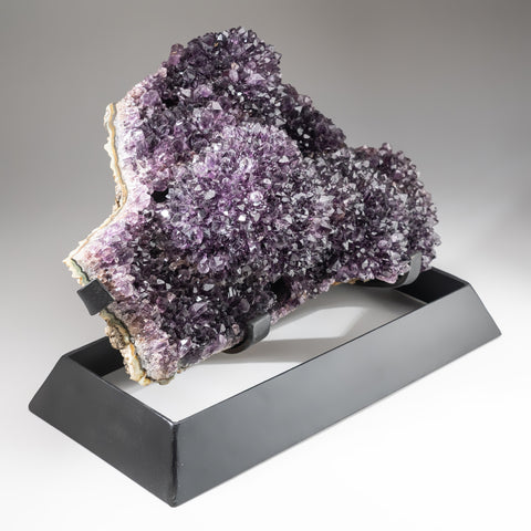 Genuine Amethyst Cluster on Metal Stand (42 lbs)