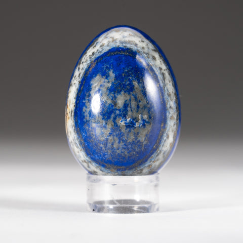 Polished Lapis Lazuli Egg from Afghanistan (142.2 grams)