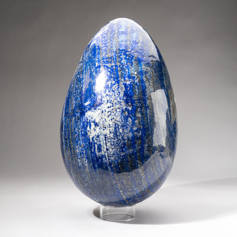Museum Quality Huge Lapis Lazuli Egg from Afghanistan (15'', 52 lbs)