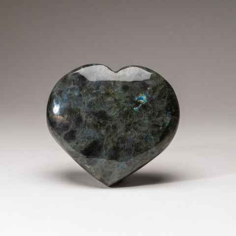 Genuine Polished Labradorite Heart (2.4 lbs)