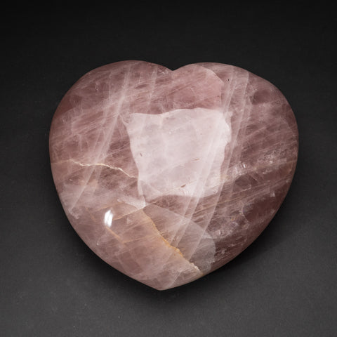 Polished Rose Quartz Heart from Brazil (32.2 lbs)