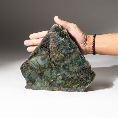 Polished Labradorite Freeform from Madagascar (8.2 lbs)