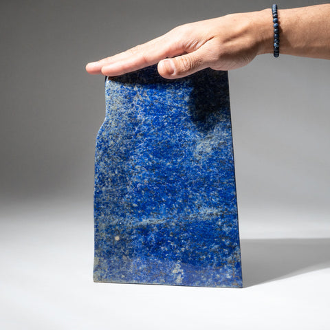 Polished Lapis Lazuli Freeform from Afghanistan (6.8 lbs)