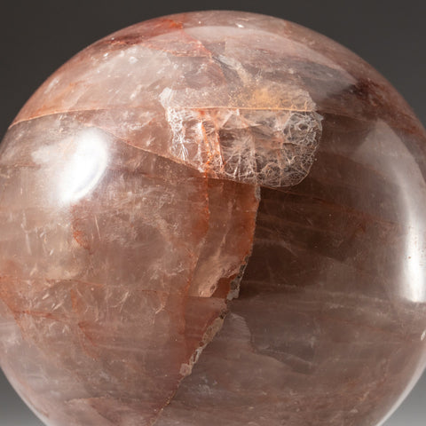 Polished Strawberry Quartz Freeform from Madagascar (2.6 lbs)