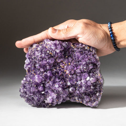 Amethyst Crystal Cluster from Brazil (5.2 lbs)